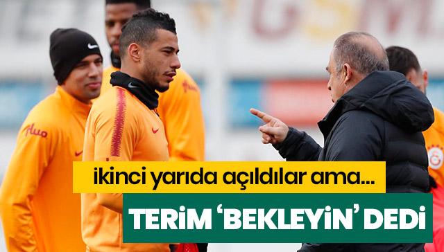 Fatih Terim, Belhanda ve Feghouli hakkında son kararı sezon sonu verecek