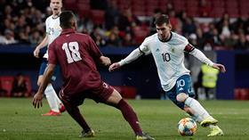 Venezuela, Messi'li Arjantin'i paspas etti