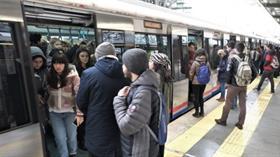 Marmaray'dan ilk uluslararası tren geçti!