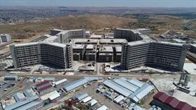 Gaziantep Şehir Hastanesinin inşaatı gelecek yıl bitirilecek