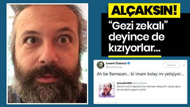Gezi provokatörü Üzümcü'nün faşist kafası!
