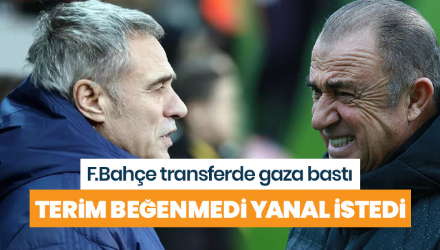 Galatasaray beğenmedi Fenerbahçe resmen devreye girdi