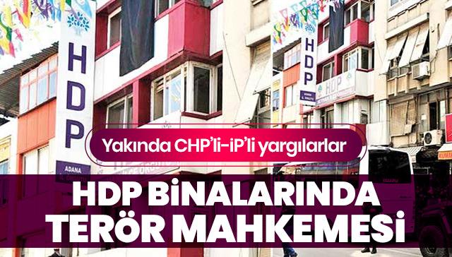 Terör örgütü PKK, HDP binalarında mahkeme kurdu