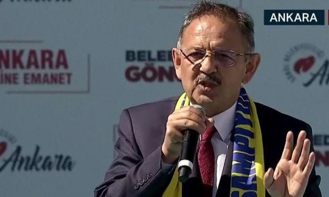 Mehmet Özhaseki:  CHP'nin adayı belediyeciliği bilmiyor