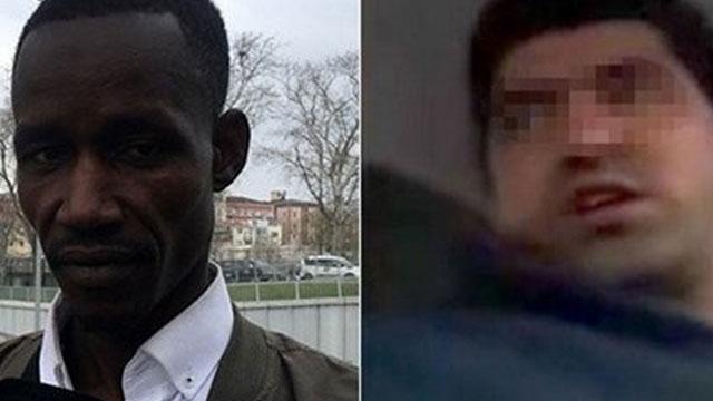 Senegalli turiste 'terörist' diyen taksici tutuklandı