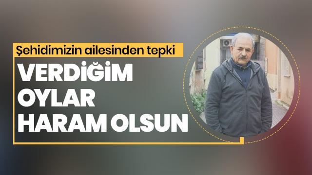 CHP'ye ve İP'ye verdiğim oylar haram olsun!