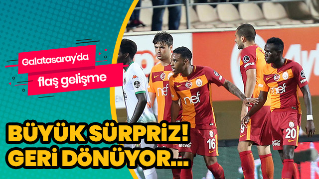 Garry Rodrigues, Galatasaray'a geri dönüyor