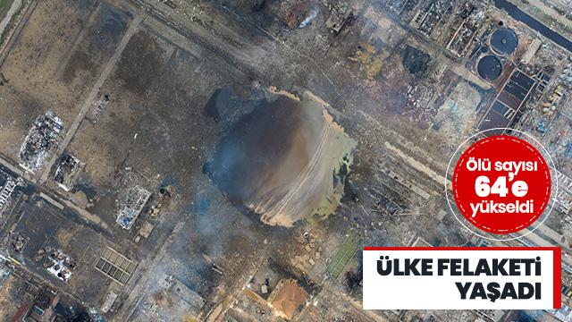 Çin'de kimya tesisindeki patlamada ölü sayısı 64'e çıktı