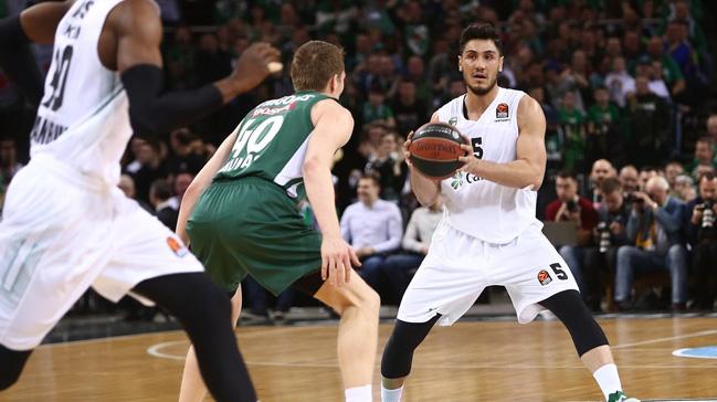Darüşşafaka Tekfen, konuk olduğu Litvanya temsilcisi Zalgiris'e 94-67 mağlup oldu