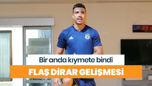 Fenerbahçe'de flaş Dirar gelişmesi