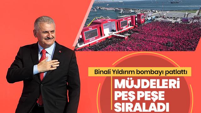 Binali Yıldırım: Türkiye'nin ruhu burada