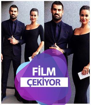 Volkan Demirel'in eşi Zeynep Demirel film çekiyor