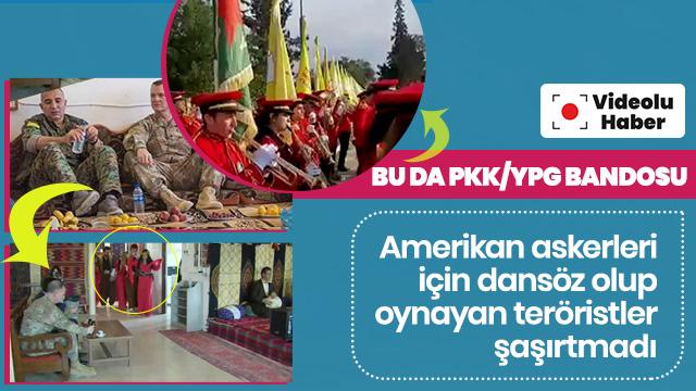 Bunu da gördük: Terör örgütü PKK/YPG'nin bandosu ABD Milli Marşı'nı çaldı