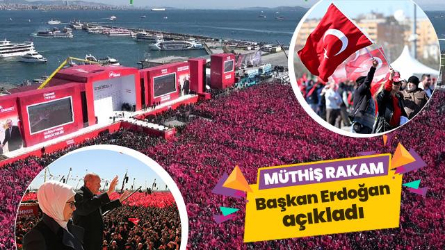 """""""Büyük İstanbul Mitingi"""" Akın akın geliyorlar"""