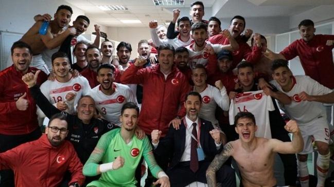 Ümit Milli Futbol Takımı, Arnavutluk'u 2-1 mağlup etti
