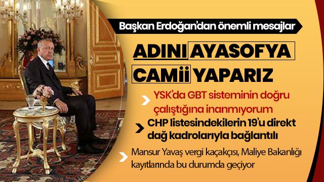 'Adını Ayasofya Camii yaparız, müze statüsünden çıkar'