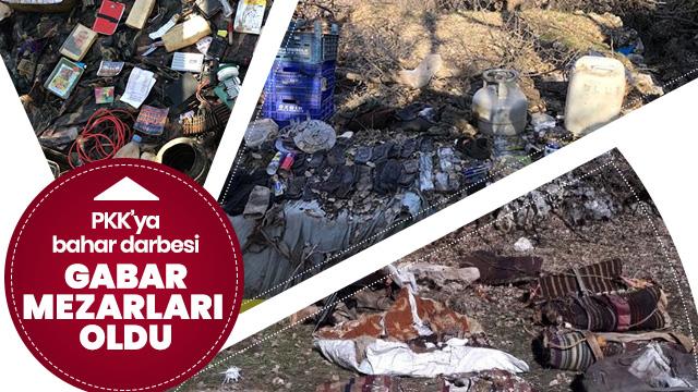 Büyük operasyon devam ediyor! TSK Gabar'ı terör örgütü PKK'ya mezar etti
