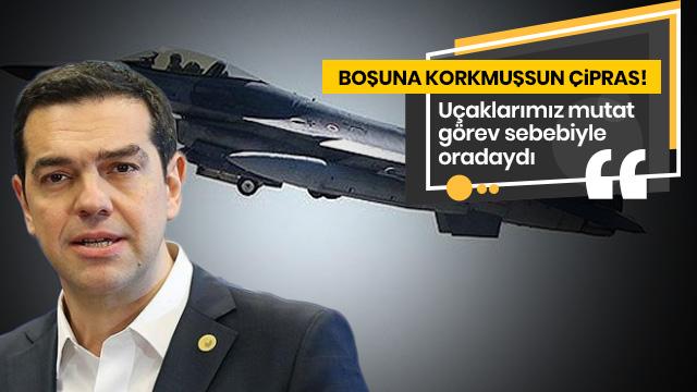 Türk jetleri, Ege'de bir olaya karışmadı