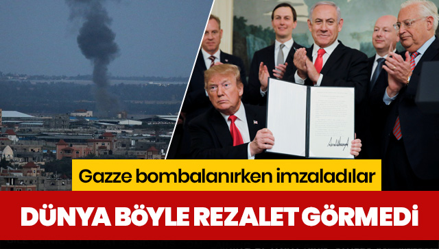 Dünya böyle rezalet görmedi