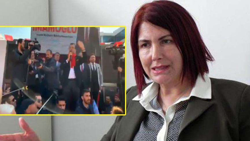 Handan Toprak Benli, Ekrem İmamoğlu'na resti çekti