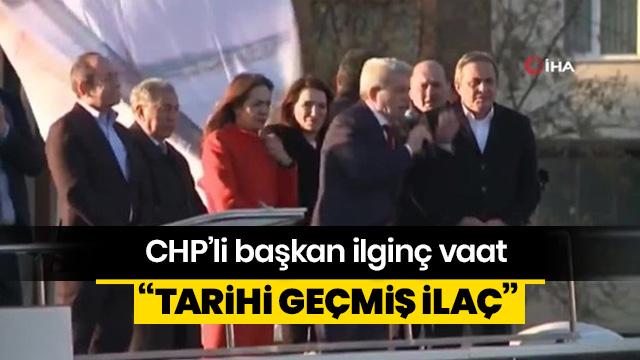 CHP'nin vatandaşa vaadi: Tarihi geçmiş ilaç