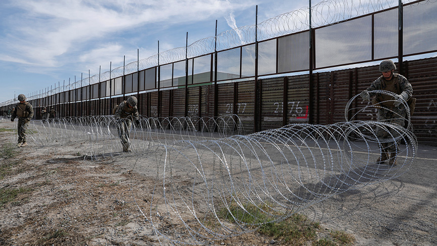 Pentagon'dan Meksika duvarına 1 milyar dolar destek