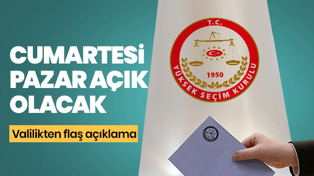 Yerel seçimler için İstanbul Valiliğinden önemli duyuru