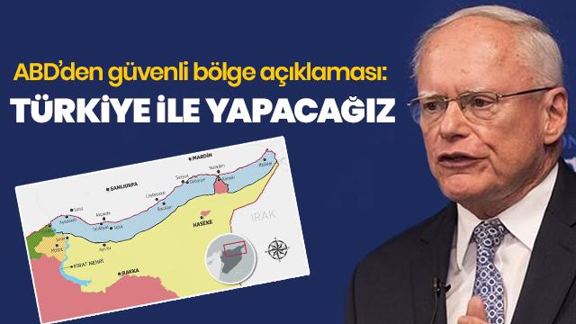 'Suriye'nin kuzeyinde güvenli bölge Türkiye ile oluşturulacak'