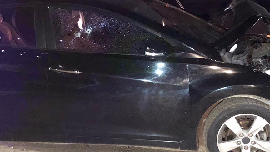 Tartıştığı iş arkadaşının otomobiline çarptı sonra kurşun yağmuruna tuttu