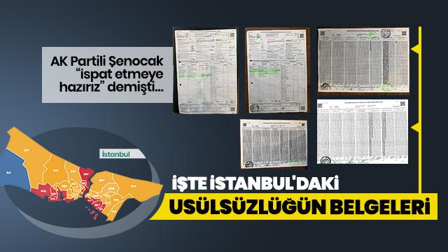 İstanbul'da sonuçları etkileyecek ilçe ilçe iptal edilen geçersiz oy sayısı ve usülsüzlüğün belgeleri