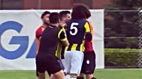 Fenerbahçe-Galatasaray U21 maçında kavga çıktı