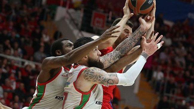 Euroleague'de çeyrek finallerin ilk sürprizi Baskonia'dan