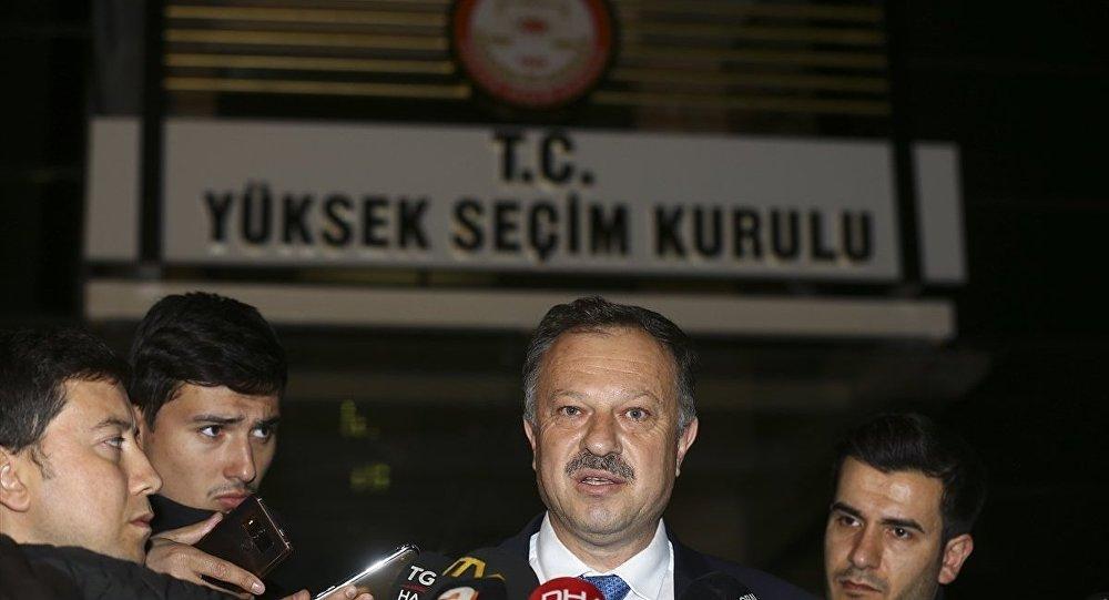 AK Parti YSK temsilcisi Özel: İstanbul için itiraz kabul edilirse...