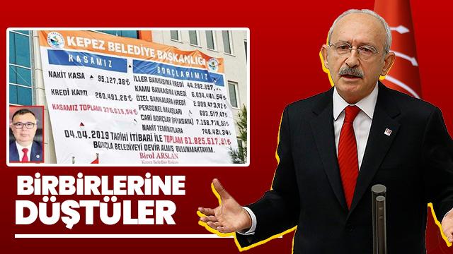 CHP'li başkanların borç kavgası