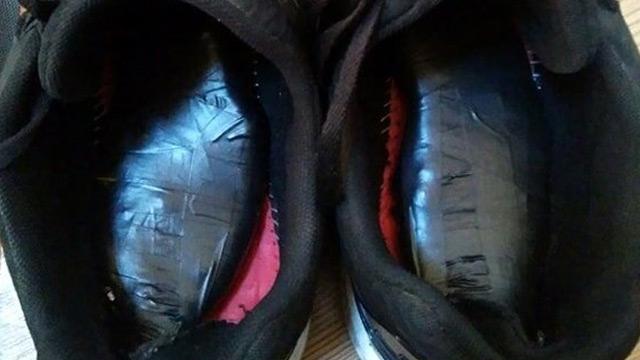 Ayakkabıya zulalanan uyuşturucu polisi bile şaşkına çevirdi