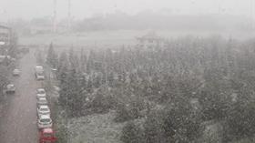 Ankara'ya kar sürprizi