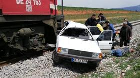 Hemzemin geçitte korkunç kaza!
