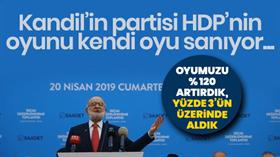 Temel Karamollaoğlu'nun yerel seçim hesabı