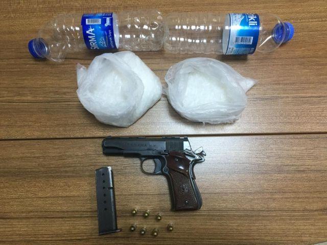 Kayseri'de pet şişelerle uyuşturucu sevkiyatı yapan 3 şüpheli yakalandı