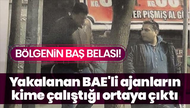 Yakalanan BAE'li ajanların kime çalıştığı ortaya çıktı