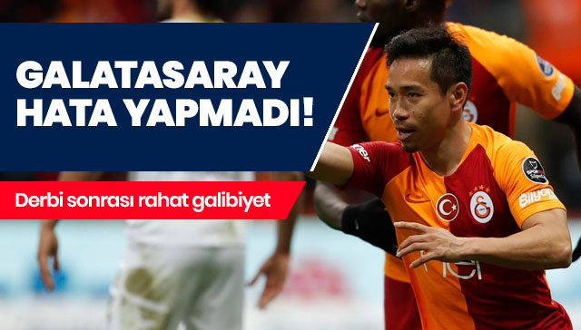 Galatasaray hata yapmadı