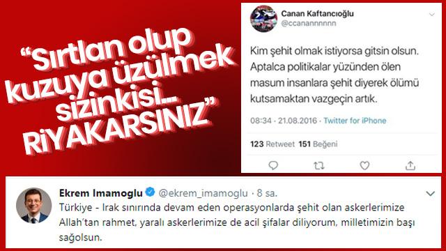 Kandil'in sözcüsü HDP'li Demirtaş'a övgüler dizen Ekrem İmamoğlu'na büyük tepki