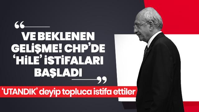 CHP Ordu-Gölköy Gençlik Kolları toplu halde istifa etti
