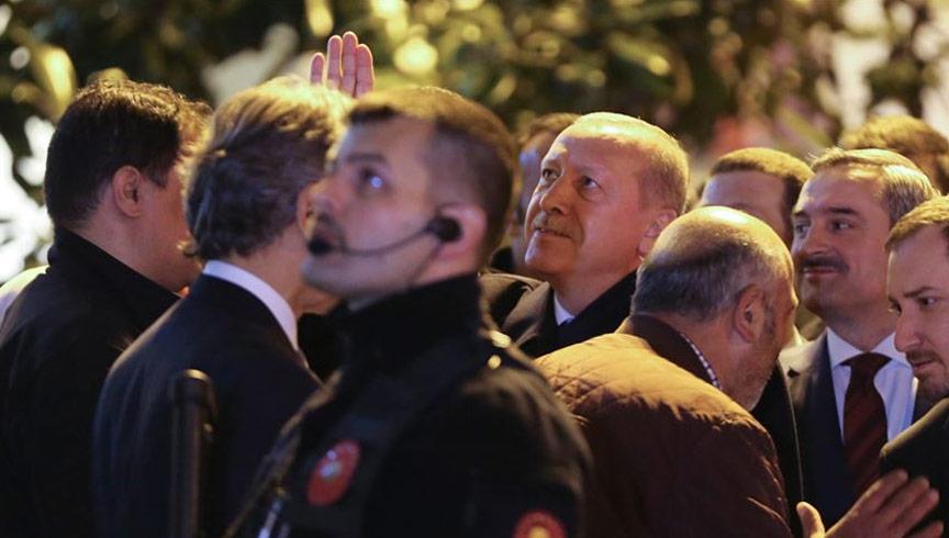 Başkan Erdoğan vatandaşlarla sohbet etti
