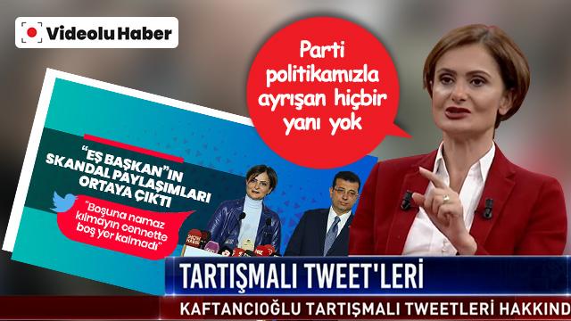 """""""Parti politikamız bu"""" dedi! Kaftancıoğlu'dan skandal sözler!"""