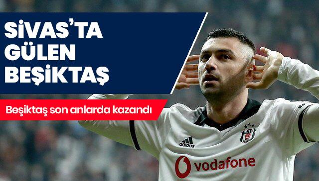 Sivas'ta gülen Beşiktaş