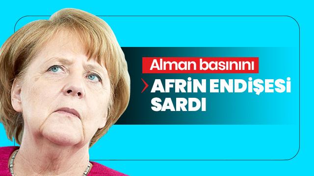 Alman basınını Afrin endişesi sardı: Hatay'la aynı kaderi yaşamasın