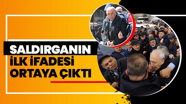 Kılıçdaroğlu'na saldıran kişi yakalandı