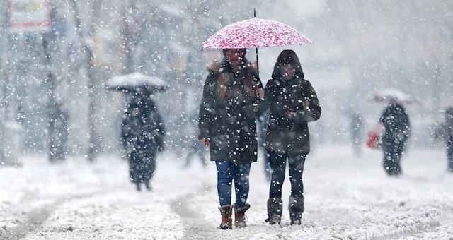 Meteoroloji birçok ilimiz için kar uyarısında bulundu
