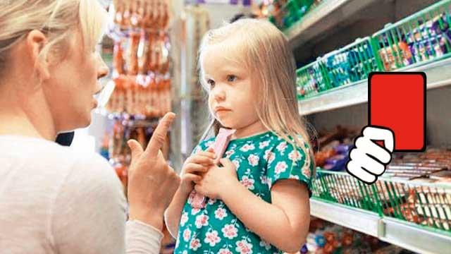 Zararlı gıdalara kırmızı kart